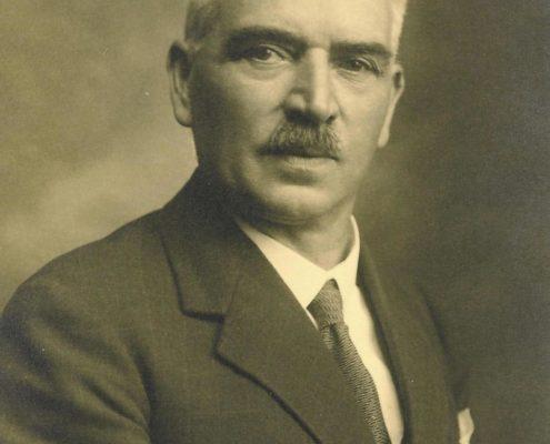 Portrait Joseph König (Sepia-Bild)