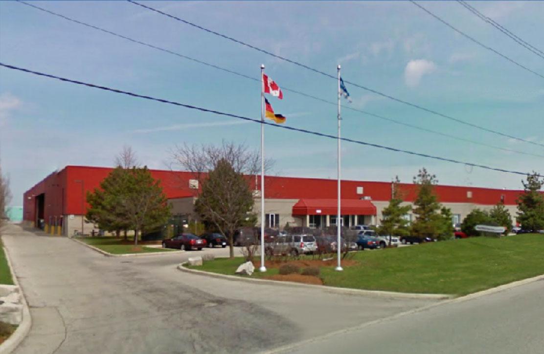 Gebäude Werk für Sicherheitsrohrtechnik Kanada