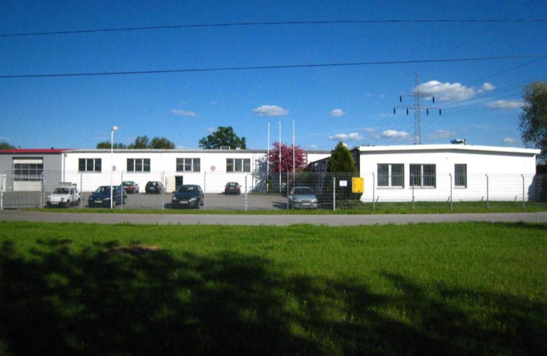 Gelände und Gebäude des Blech- und Biegetechnikwerkes Polen