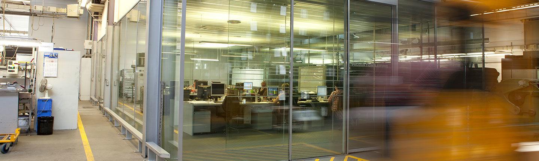 Einblick in die Büros von König Metall