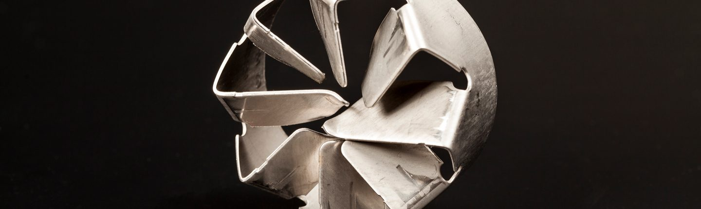 Konstruktion (Wasserrat-artig) silbern